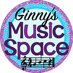 Ginny's Music Space logo