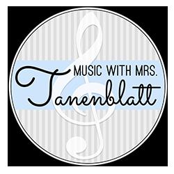 Music with Mrs. Tanenblatt logo