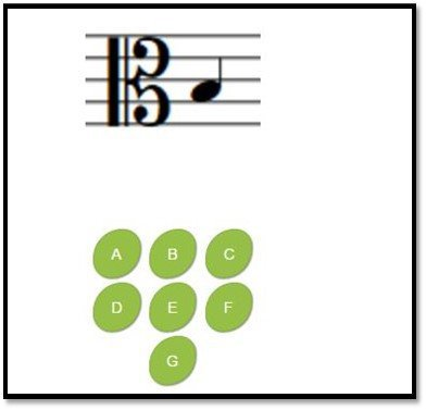 8notes provide interactive games to help students learn the music staff notes