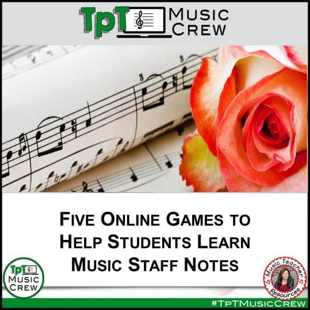 Five Online Games to Help Students Learn Music Staff Notes