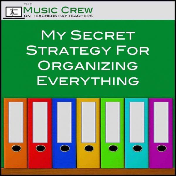 My Secret Strategy for Organizing Everything!