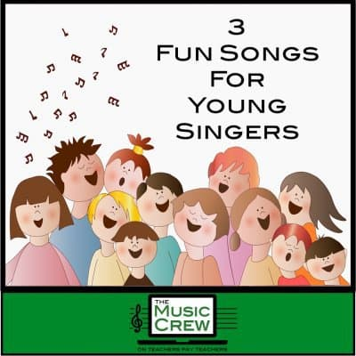 Three Fun Songs for Young Singers