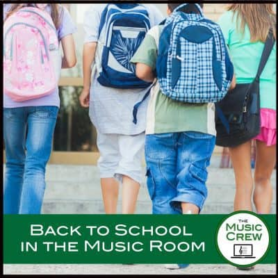 Back to School Ideas for the Music Room