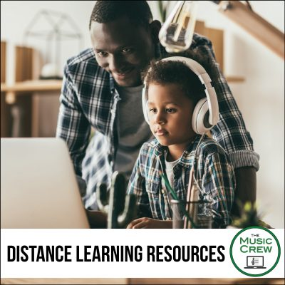 Navigating Distance Learning with The Music Crew