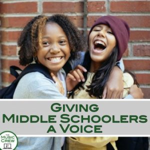 Giving Middle Schoolers a Voice