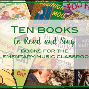 10 Books to Read and Sing